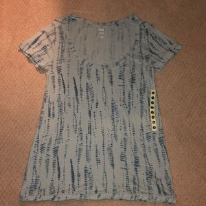 Urban outfitters bdg blue patterned shirt size xs